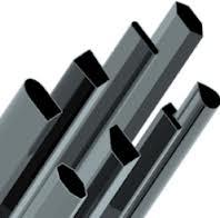 Труба алюминиевая квадратная, профильная АД31Т5 АН15 55х10