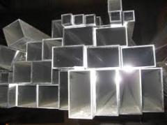 Труба алюминиевая квадратная, профильная АД31Т5 АН15 8,8х10х1,5