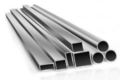 Труба алюминиевая квадратная, профильная АД31Т5 Б.П. 105х2,5