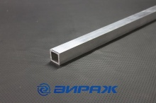 Труба алюминиевая квадратная, профильная АД31Т5 Б.П. 26х3