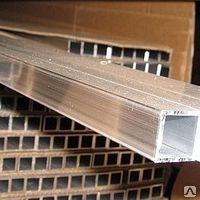 Труба алюминиевая квадратная, профильная АД31Т5 Б.П. 30х1
