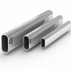 Труба алюминиевая квадратная, профильная АД31Т5 Б.П. 42х3