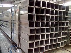 Труба алюминиевая квадратная, профильная АД31Т5 Б.П. 45х6