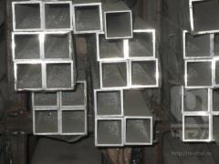 Труба алюминиевая квадратная, профильная АД31Т5 Б.П. 50х2,5