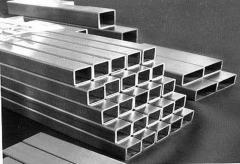 Труба алюминиевая квадратная, профильная АД31Т5 Б.П. 75х2,5