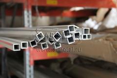 Труба алюминиевая квадратная, профильная АД31Т5 Б.П. 85х5