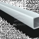 Труба алюминиевая квадратная, профильная АД31Т5 Б.П.30х30х2
