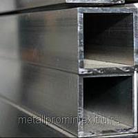 Труба алюминиевая квадратная, профильная АД31Т5 Б.П.30х40х4