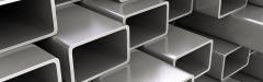 Труба алюминиевая квадратная, профильная АД31Т5 Б.П.40х40х2