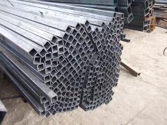 Труба алюминиевая квадратная, профильная АД31Т5 Б.П.60х60х3,5