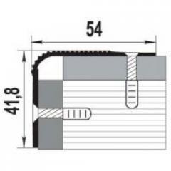 Уголок алюминиевый АН 15 20х30х2