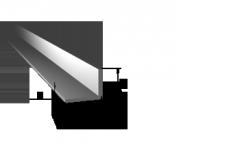 Уголок алюминиевый АН 15 40х60х4/3*