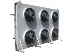 Dry coolers, air condensers, chiller.