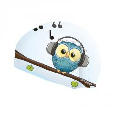 Детская шапочка для плавания Spokey Stylo JR (original) птичка