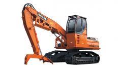 La excavadora Doosan DX300LL de oruga