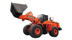 El cargador Doosan DL550 de rueda
