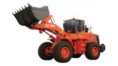 El cargador Doosan SD300 de rueda