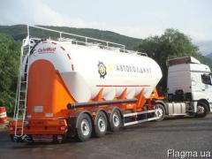 Semi-trailer kormovoz mukovoz Guven