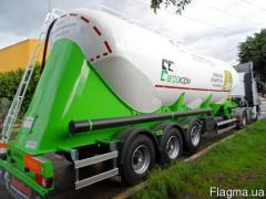 Semi-trailer cement truck kormovoz mukovoz