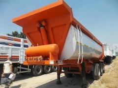 El semirremolque-camión basculante Guven de 2011