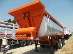 Guven 2011 semi-trailer dump truck.