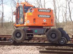 Doosan DX160RW special equipmen
