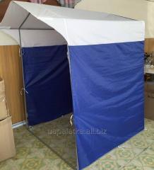 Палатка 1,5х1,5м  труба 16мм синяя