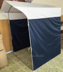 Палатка 1,5х1,5м  труба 16мм темно синяя