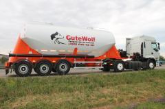 Aluminum Guven cement truck