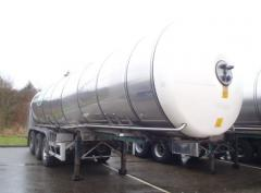 Food the semi-trailer tank 29 of m3 of 2002 in
