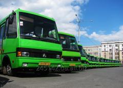 Sets of glasses (mashkomplekt) for Bogdan buses
