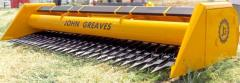 Harvester for cleaning of sunflower Don