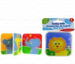 Игрушки для ванной книжка-пищалка Африка Baby Mix