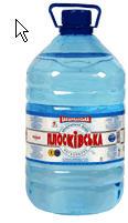 Вода минеральная не газированная