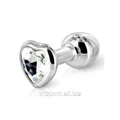 Anal Diogol Anni heart silver ornament: jewelry