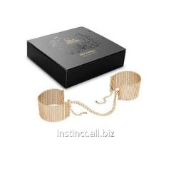 Désir Métallique bracelets handcuffs (golden)