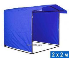 Tent of 2х2 m pipe of 16 mm