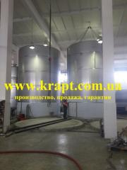 Capacity corrosion-proof for fermentation