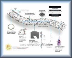 Стент коронарный кобальт-хромовый с биорастворимым