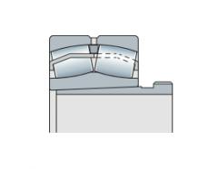 Подшипник сферический двухрядный радиальный с стяжной втулкой