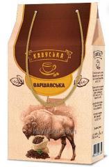 Кофе Кавуська Варшавская молотый 75г