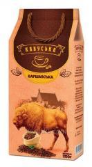 Кофе молотый Кавуська Варшавская 250г