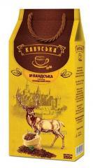 The coffee ground Kavuska Irlandskaya of 250...