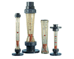 Rotameters (water, gas, air) a wide choice, sales