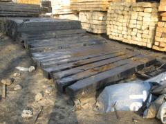 Podkłady kolejowe drewniane