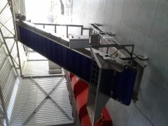Conveyor for berries / conveyor for berries