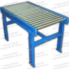 Roller conveyor (roller conveyor), length 2 m