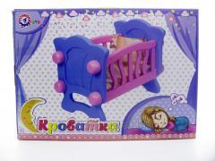 Кроватка для кукол арт. 4166