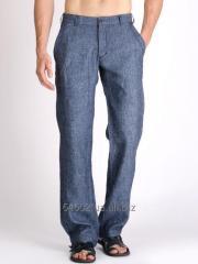 Lny men's trousers, bridges and shorts.