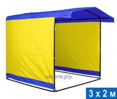 Tent of 3х2 m pipe of 20 mm